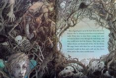 Trina Schart Hyman «The Sleeping Beauty American Illustration, Forest Illustration, Quest For Camelot, Enchanted Castle, Book Reviews For Kids, Sleeping Beauty Castle, Queen, Maleficent, Cool Art