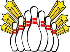 free bowling clip art clipart best clipart best crafty rh pinterest com