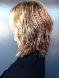 Shoulder length - Cut and style by Alissa Tietgen