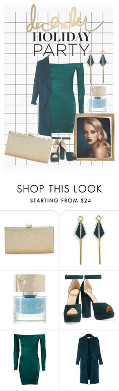 """""""December holiday party 🎉"""" by earthangell on Polyvore featuring La Regale, Atelier Maï Martin, Smith & Cult, Charlotte Olympia, Boohoo, L.K.Bennett and Heidi Swapp"""