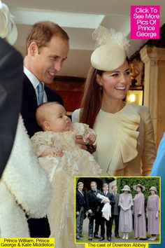 Prince George's First Christmas | Prince George's First Christmas To Be Just Like 'Downton Abbey'