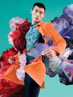 JJStyle: Bursting With Floral Freshness, 'Botanica' by Katsuya Kamo at Lane Crawford for S/S 2014