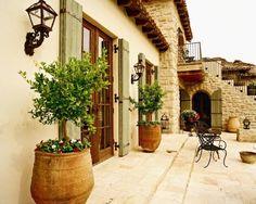 Mediterranean Exterior Design, Pictures, Remodel, Decor and Ideas
