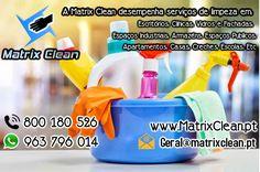 Somos Especialistas em Limpeza Profunda. A Matrix Clean apresenta uma completa gama de serviços nas áreas de limpeza, higiene e manutenção, respondendo aos principais requisitos dos mais diversos tipos de espaços.  www.matrixclean.pt