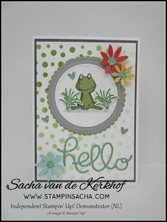 Stampin' Sacha - Stampin' Up! - Annual Catalogue 2016-2017 - Spring/Summer Catalogue 2017 - Layering Circles Framelits - Hello You Thilits - Stitched Shapes Framelits - Love You Lots - Oh So Succulent - Succulent Framelits - Decorative Masking Technique - Every Day Occasion - #stampin_sacha - #stampinup