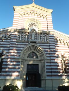many churches and basillicas