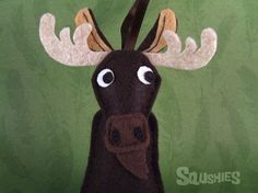 Felt Ornament - Humphrey the Moose