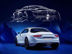 Alpine Vision Concept previews 2017 model