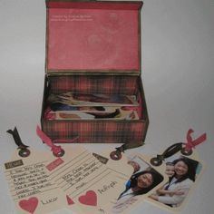 A box of memories - what an adorable way to thank a teacher, or anyone else!