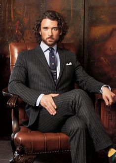 Polo fall 2012 (I can't decide if I'm pinning this for the fashion or the great hair and beard combo)
