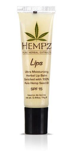 Hempz Cannabis Sativa Herbal Lip Balm is the next generation of organic lip protection, providing dynamic skin rehydration through the use of Natural Hemp Seed Extract and pure Vitamin E. #SEMILLAS #MARIHUANA #PEPITA #SEEDS