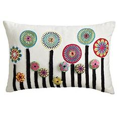 "I have to get this pillow for the ""formal playroom"" the next time I go to Pier 1!  Love it!"