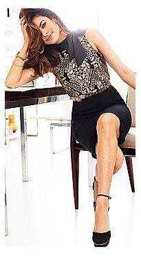 Eva Mendes Collection - Brielle Bow- Neck Shell