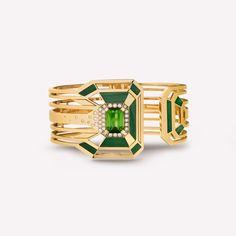 シャネル(CHANEL)より新作ファインジュエリーコレクション「ギャラリーコレクション」が登場。今回のコレクションに登場するのは全12種類のアイテム。鮮やかな赤や、深みのある緑、イエローゴールドとダイ...