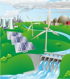 Diversificación de la matriz energética. Tipos de fuentes de energía. Ingeniería Eléctrica.