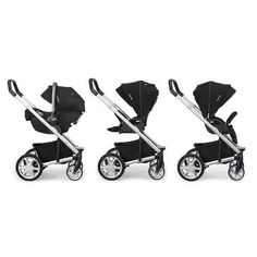 - Three fab modes for newborn and toddler use: travel system, rearward and forward facing seats - true flat reclining seat allows for plenty of space to sleep or stretch - a one piece fuss–free compac