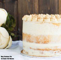 Si estáis buscando una receta para hacer un pastel o una tarta para un cumpleaños, un aniversario o cualquier celebración, aquí tenéis una idea que puede ser de vuestro agrado, sobre todo si os gusta la repostería con fruta, la tarta de manzana en general, la combinación de esta fruta con la canela, la cremosidad en el relleno, un bizcocho esponjoso… esta Tarta de manzana y crema de canela tiene toda la pinta de satisfacer a los paladares más exigentes, así que hay que tomar nota de la…