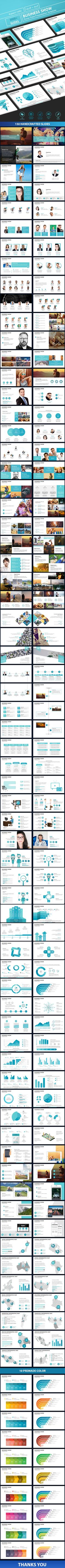 Business Show PowerPoint Presentation Template #corporate #ecomerce #marketing #analysis