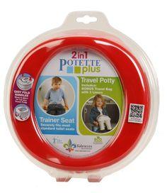 #amazon Kalencom 2-in-1 Potette Plus Red - $9.45 (save 41%) #kalencom #baby #product