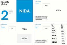 NIDA by Maud, Australia. #branding #guidelines