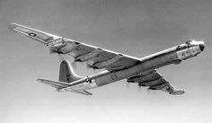 The B36 Peacemaker - a long range intercontinental bomber designed as the nuclear air arm of the US strategic forces and the only manned, recallable option of the nuclear triad strategy which served the role as deterrence or the unthinkable mutual destruction.....  The cold war era :-(
