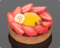 Strawberry, Rhubarb and Passion fruit tart by Pierre Hermé