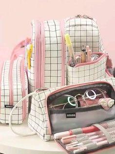 Cool Stationary, Stationary Supplies, Cute Stationery, Cute School Stationary, School Pencil Case, Cute Pencil Case, Pencil Pouch, High School Supplies, School Suplies