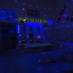 Neon Bedroom Lights uv cabinet!   bedrooms