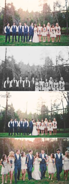 After Ceremony - Bridesmaids and Groomsmen