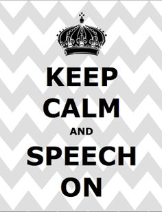 Crazy Speech World: Keep Calm and Speech On! {Freebie!}