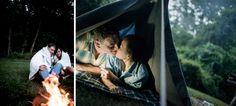 Sumi + Chad | Maryland Camping Engagement Session by Ben Lau Photography