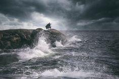Jone Matilaisen Road to Valhalla -näyttely tuo esille näkymiä viikinkikulttuuriin.