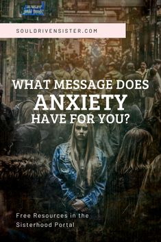 Do you struggle with anxiety daily? My name is Natalie and I'm an Intuitive Healer, Channeler and Soul Integration Coach. Nothing makes my heart swell more than seeing women (like you) glow in their physical body, be empowered by their emotions, and connect deeply to their intuitive wisdom. Follow the link to learn about the message your anxiety has for you. #healing #healer #intuitive #healyourself #healingtrauma #spiritguides #personalgrowth #selfcare #selflove #anxiety #mentalhealth Grounding Meditation, Free Meditation, Guided Meditation, Spirit Guides, Healer, Intuition, Awakening, Self Love, Anxiety