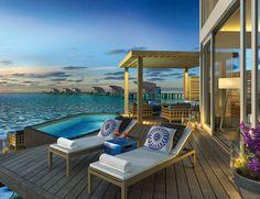 Hotel Viceroy en las Islas Maldivas. Si quieres ver más lugares de ensueño, visita http://www.elle.es/viajes/flechazos-news/las-mejores-habitaciones-de-hotel