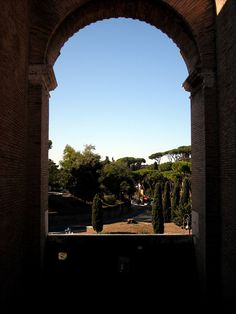 Crafted Living blog - Such a beautiful view from the Colosseum