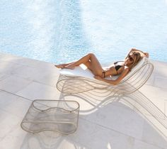 sunbed outdoor chaise longue made in italy manufacturer design garden luxury