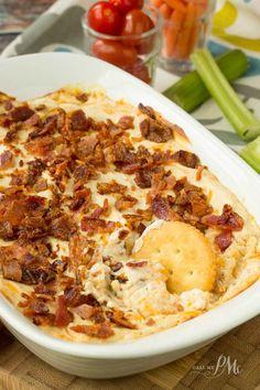 Creamy Hot Bacon Cheesy Dip Recipe