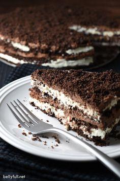 No~Bake Chocolate Icebox Cake