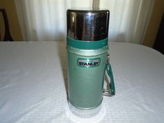 Vintage Stanley thermos/ Stanley aladdin thermos / unbreakable Thermos / Stanley Thermos / Stanley / Thermos / by Montyhallsshowcase on Etsy