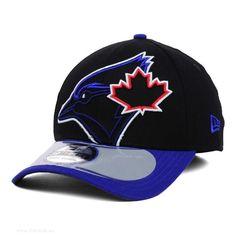 Begunstigd-New-Era-Toronto-Blue-Jays-MLB-2014-On-Field-Clubhouse-39THIRTY-Pet-Zwart-Sale-bjx2800-Store-Eindhoven