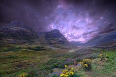Glencoe - Glencoe in the Scottish Highlands..  Prints, etc now available at…