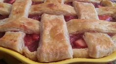 Dried cranberries join Granny Smith apples in this fall pie perfect for Thanksgiving.
