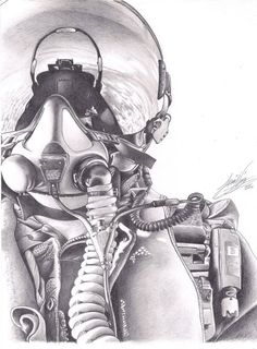 Jet Fighter Pilot, Air Fighter, Fighter Jets, Aviation Tattoo, Aviation Art, Beautiful Pencil Drawings, Cool Drawings, Pilot Tattoo, Wings Sketch