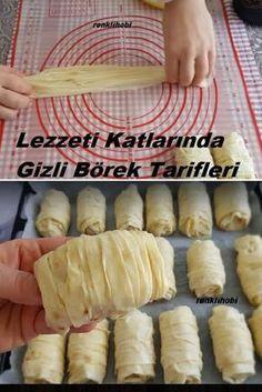 Pasta Recipes, Bread Recipes, Cooking Recipes, Savory Pastry, Tasty, Yummy Food, Turkish Recipes, Beautiful Cakes, Hot Dog Buns