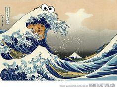 Tsunami Cookie Monster