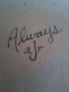Tattoo with my best friend. @Ashley Walters Jones