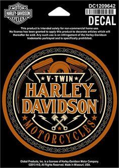 Original Harley-Davidson Aufkleber  HIGH FIDELITY  Aufkleber *DC1209642*