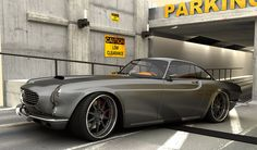 Koenigsegg engineer building modern-day Volvo P1800