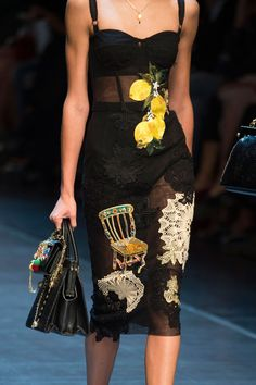a53c8982a095 Dolce   Gabbana at Milan Fashion Week Spring 2016