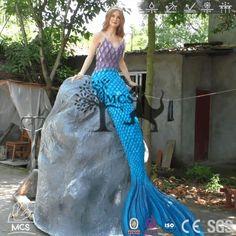 Mermaid Robot Animatronic Magical Creatures Statue
